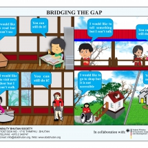 Bridging the gap poster